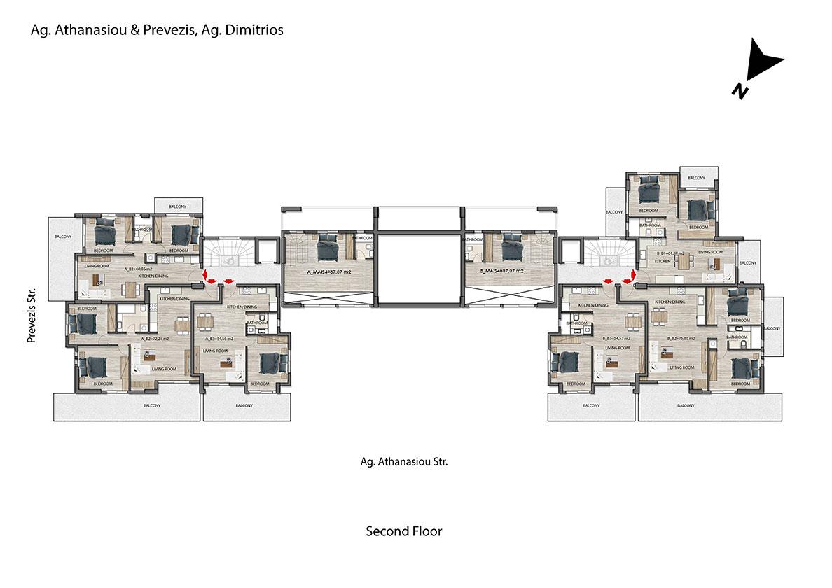 Ag. Athanasiou 27 & Prevezis 33 (Building A)